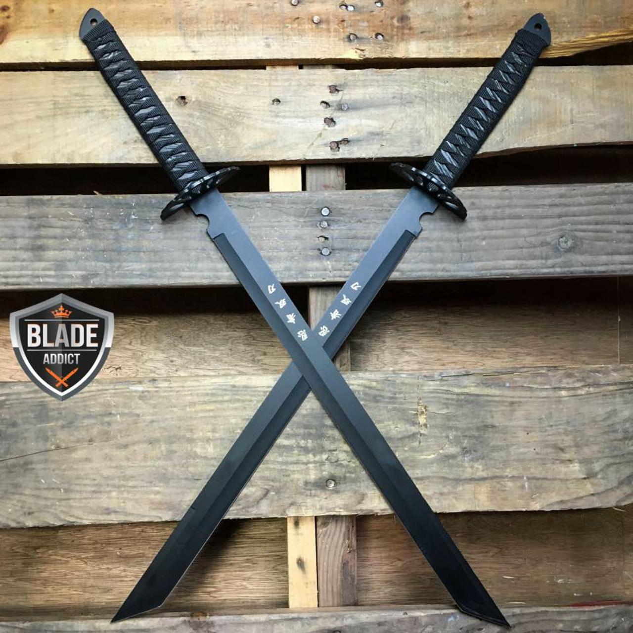2pc 27 Quot Hunting Double Ninja Machete Knife Military
