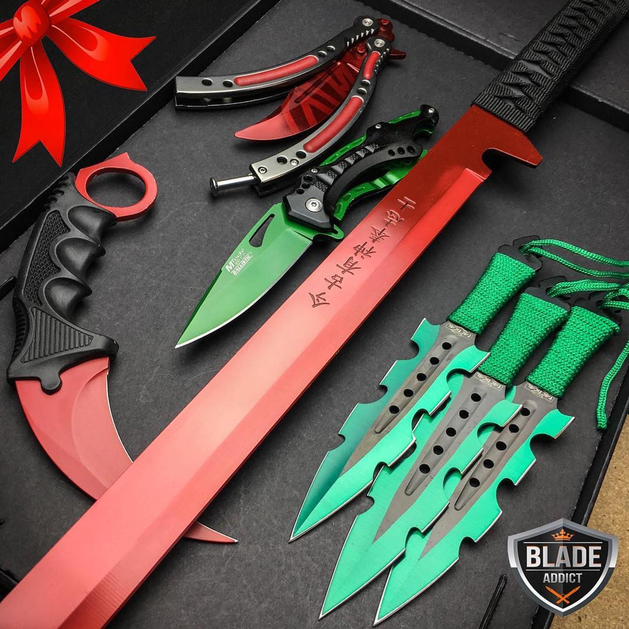 Special Edition Christmas Set 5 Pc Elite Knife Set