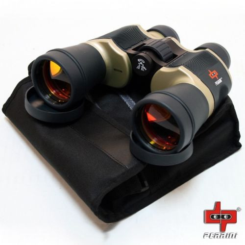Day/Night 20x60 High Quality Outdoor Bronze Binoculars w/ Pouch Perrini Camping