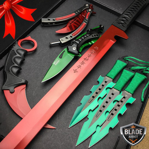Special Edition Christmas Set 5 Pc Elite Knife Set