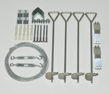 Cable Anchor Kit for Nature Greenhouses