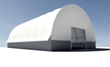 TrussMax Arch-Tension Fabric Structure - 44', 56' W