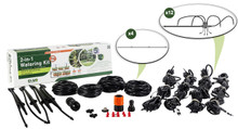 ELGO 2-in-1 Watering Kit - Misting Sprinklers & Dripper Set