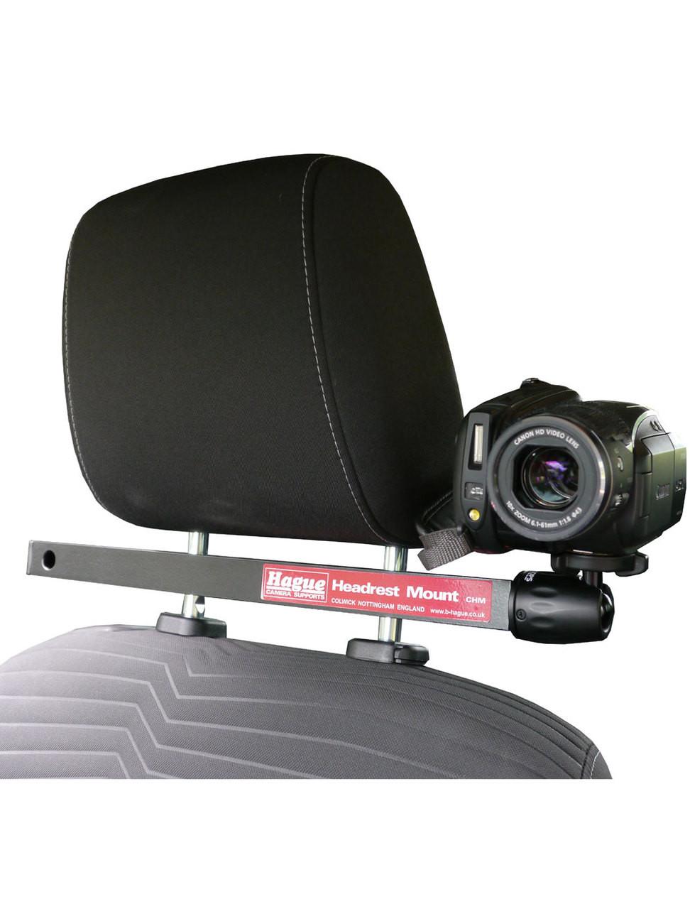 hague camera headrest mount for car filming cameragrip. Black Bedroom Furniture Sets. Home Design Ideas