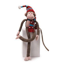 Christmas Knit Monkey