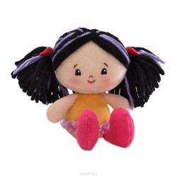 Hailey Gund Girlies Black Hair Doll