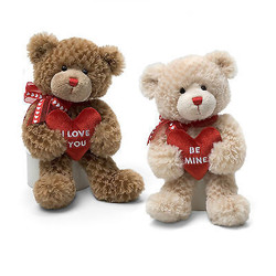 Valentine's Message Bears