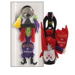 Slammer Door Hanger, Vampire and Witch