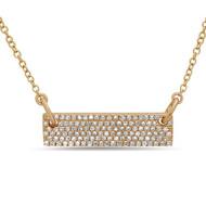 Bassali Shimmer Bar Necklace