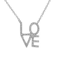 Bassali Diamond Love Necklace
