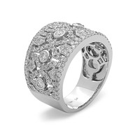 Bassali Muse Diamond Band Ring