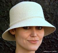 Crushable women's summer belle hat