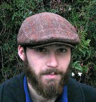 HARRIS TWEED, BROWN HERRINGBONE (IR18)