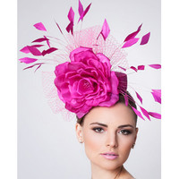 Pink Fascinator, Alyssa by Arturo Rios
