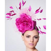 Pink Fascinator, Alyssa by Arturo Rios