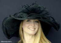 Belmont Derby Hat in Black