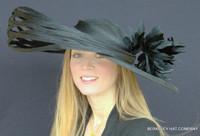 Black Saturnalia Derby Hat