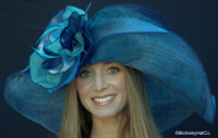 Navy Dynamic MultiColored Kentucky Derby Hat
