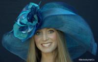 Navy Dynamic MultiColored Kentucky Derby Hat