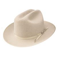Stetson Open Road Cowboy Hat  in Silverbelly
