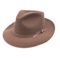 Stetson Stratoliner Fedora, Bound Regular in Brown