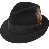 Jet Fedora by Stetson in Black