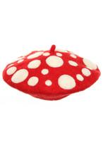 Mushroom Heartfelted Hat
