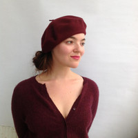 Parkhurst Canadian Basque Beret on Model