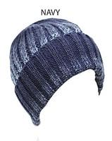 Knit Moire Cuffed Beanie