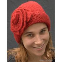 Knit Cap, self flower