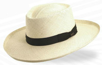 Big Brim Panama Plantation Gambler Hat