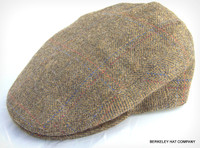Italian Wool Tweed Herringbone Ivy Flat Cap
