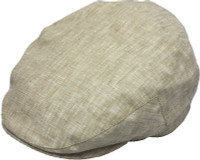 Linen Ivy Cap with Cotton Lining