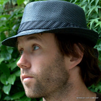 Stingy Straw Fedora Hat