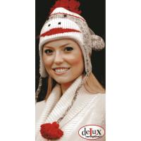 Knit Sock Monkey Hat