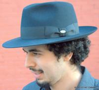 European Fur Felt Men's Hat, Wide Brim