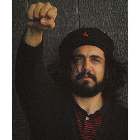 Image 1  sc 1 st  Berkeley Hat Company & CHE Guevara Beret with Attached Hair - Berkeley Hat Company