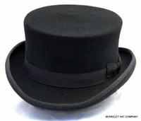 John Bull Top Hat, wool felt