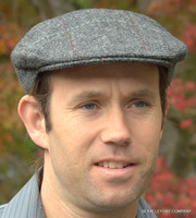 Irish Wool Tweed Barleycorn Flat Cap (IR04)