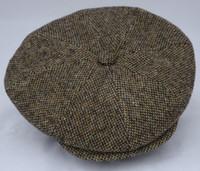Italian Wool Newsboy Cabbie Cap (IR29)