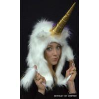 Unicorn  Hat  Faux Fur