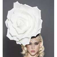 Rose Fascinator by Arturo Rios