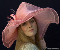 Sinamay Large Brim Wedding Hat