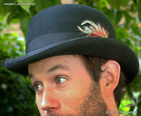 Wool Felt Derby Hat
