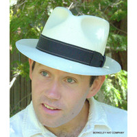 West End Shantung Straw Hat by Biltmore