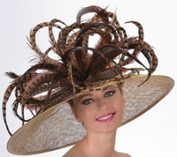 Off To The Races Derby Hat - FREE US EXPRESS