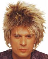 Unisex Rocker Wig, Short