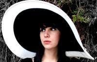 Women's  Big Wide Brim Derby Spectator Hat.