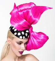 Lisa, Hot Pink Bow Pillbox by Arturo Rios