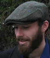 HARRIS TWEED IVY CAP,  TRADITIONAL   (IR14)